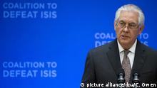 Rex Tillerson Anti -IS- Koalition Washington