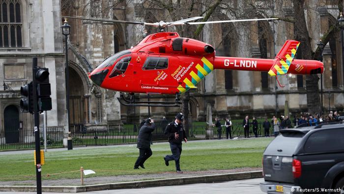 London Anschlag Westminster Brücke (Reuters/S.Wermuth)