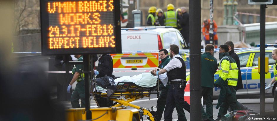 Ataque no coração de Londres