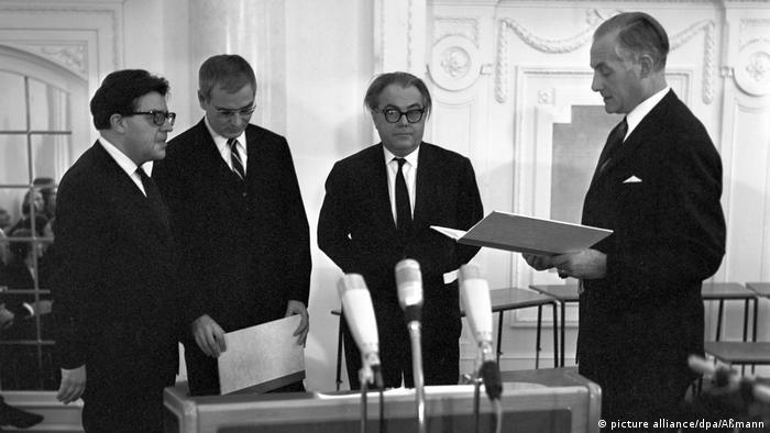Verleihung des Schiller-Gedächtnis-Preises 1965