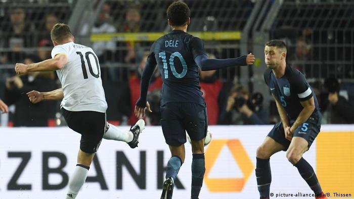 Deutschland Freundschaftsspiel Deutschland vs. England in Dortmund (picture-alliance/dpa/B. Thissen)