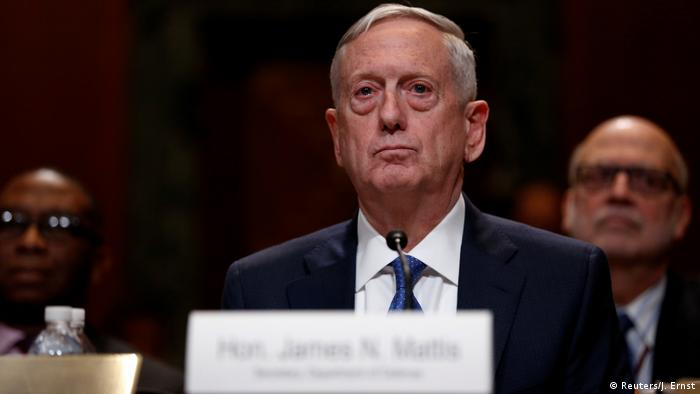 USA James Mattis vor dem Senat in Washington (Reuters/J. Ernst)