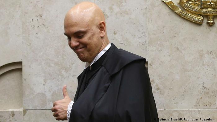 Ministro Alexandre de Moraes do Supremo Tribunal Federal (STF)
