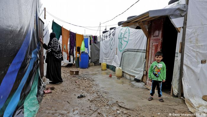 Libanon Flüchtlingslager in Bekaa (Getty Images/AFP/J. Eid)