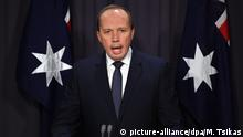 Australien Minister für Immigration Peter Dutton