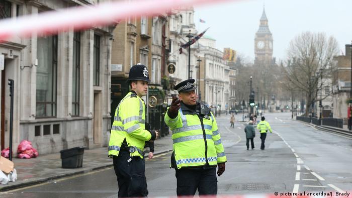 Policias em Londres