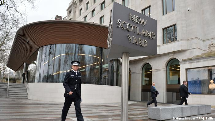 UK | Mark Rowley, Chef der Anti-Terroreinheit von New Scotland Yard (Getty Images/AFP/J. Tallis)