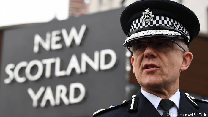 UK | Mark Rowley, Chef der Anti-Terroreinheit von New Scotland Yard (Getty Images/AFP/J. Tallis)