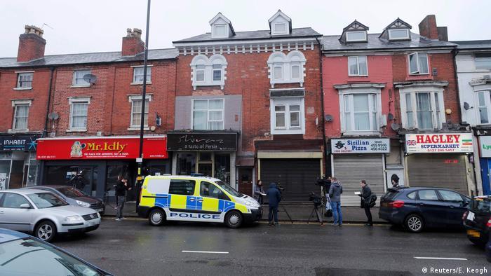 Großbritannien Birmingham Razzia nach Terroranschlag in London (Reuters/E. Keogh)