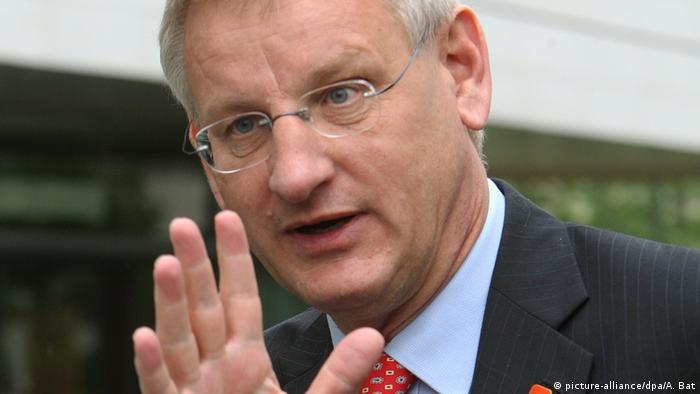 Schweden Ex-Ministerpräsident Karl Bildt
