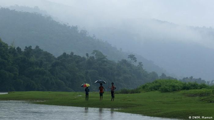 Bichnakandi Bangladesch Tourismus Landschaft
