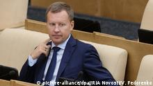 Russland Duma - Abgeordneter Denis Woronenkow