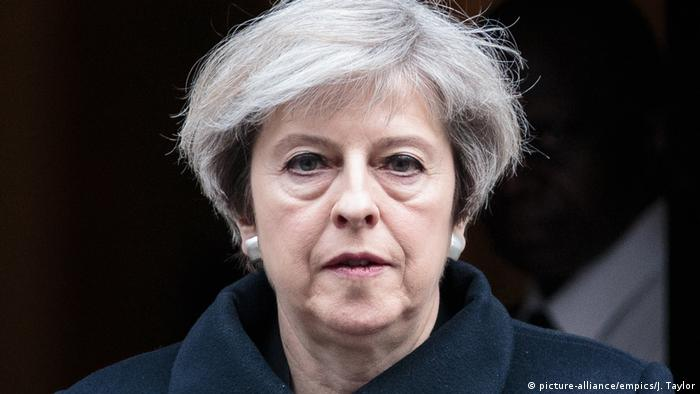 Theresa May Premierministerin England (picture-alliance/empics/J. Taylor)