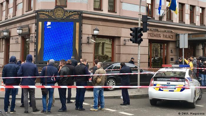 Место гибели Дениса Вороненкова