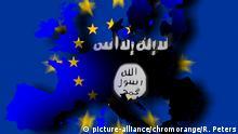 Symbolbild IS Terror Europa