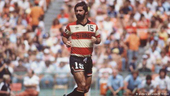 Gerd Mueller playing for Fort Lauderdale Strikers