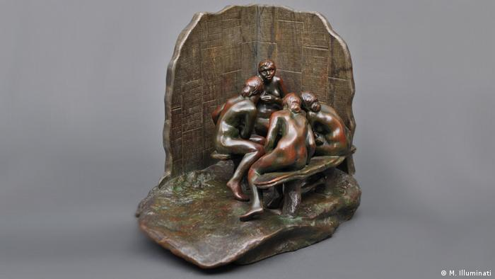 Camille Claudel, The Gossips (M. Illuminati)