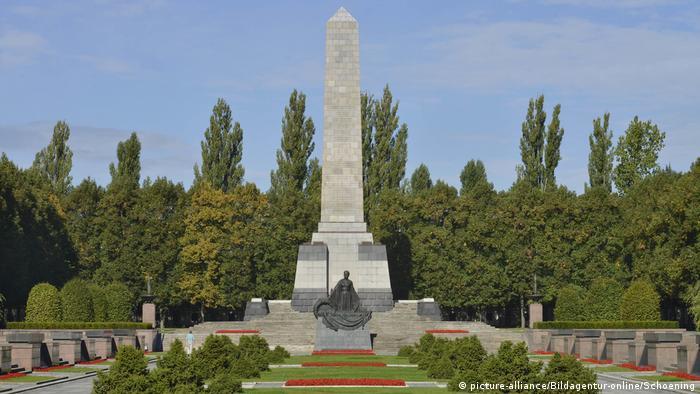 Советский военный мемориал в Панкове, Берлин