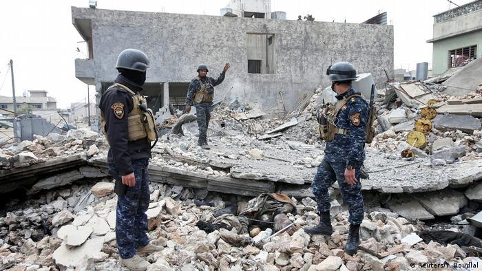 Irak Kampf um Mossul (Reuters/Y. Boudlal)