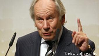 Bitkom-Chef August Wilhelm Scheer (Foto: dpa)