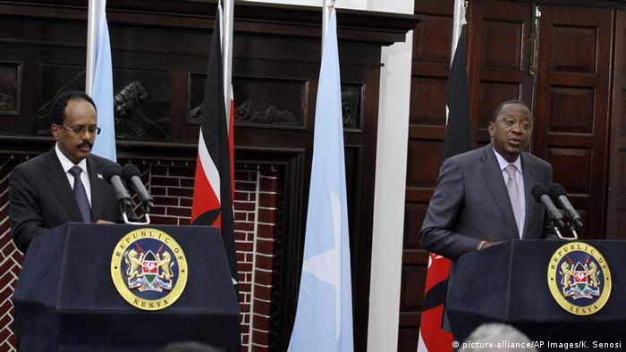 Kenia Nairobi Besuch Somalischer Präsident