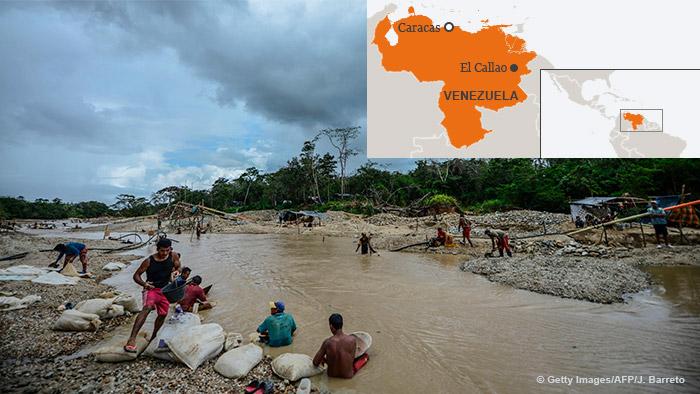 Karte Foto Kombo El Callao Venezuela ENG