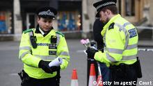 London nach dem Attentat - Blumen