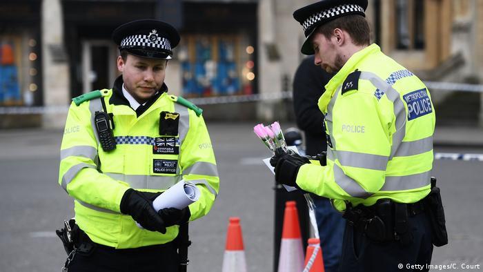 Поліцейські на місці скоєння нападу в Лондоні