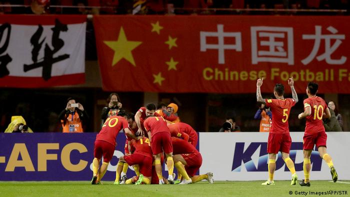 China Fußball WM Qualifikation China - Südkorea (Foto: Getty Images/AFP/STR)
