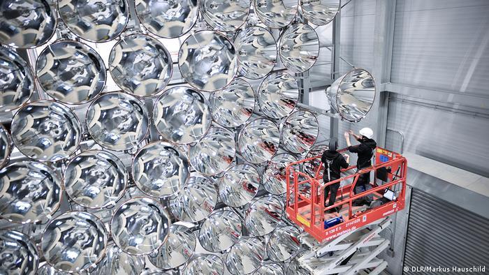 Pressematerial Synlight - größte künstliche Sonne der Welt (DLR/Markus Hauschild)