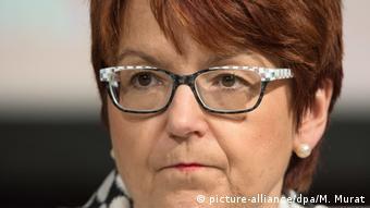 Η επικεφαλής της επιτροπής ελέγχου προϋπολογισμού και μέλος της Χριστιανοδημοκρατικής παράταξης (CDU) Ίνγκε Γκρέσλε.