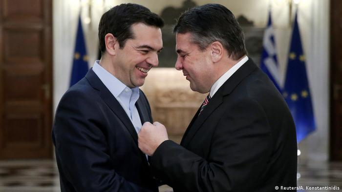Griechenland - Sigmar Gabriel trifft Alexis Tsipras in Athen (Reuters/A. Konstantinidis)