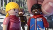 Titel: DW euromaxx 23.03.17_Playmobil Romeo und Julia kein DW Copyright gegeben, Rechtegeber Michael Sommer
