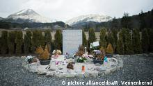 Germanwings Absturz - Gedenkstätte