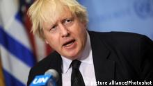 USA UN Sicherheitsrat - Boris Johnson
