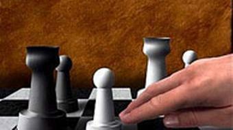 Schachspiel - Weiss ist am Zug