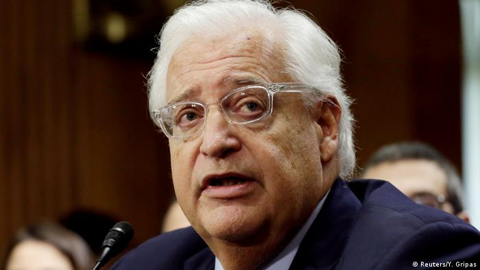 USA David Friedman in Washington (Reuters/Y. Gripas)