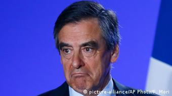 Frankreich Francois Fillon in Paris