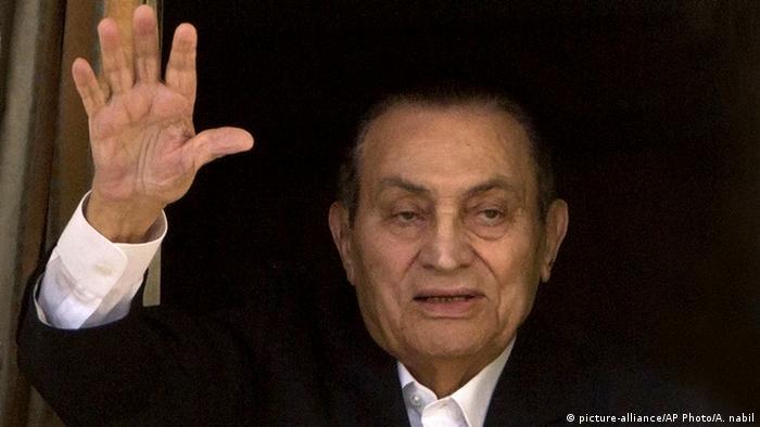 Egyptiane ex president Hosni Mubarak