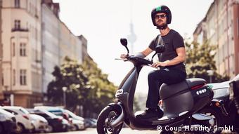 E.Mobilität made in Taiwan: Smarte Scooter für Berlin (Coup Mobility GmbH )