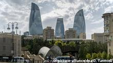 Aserbaidschan Baku Flame Towers