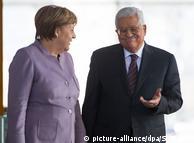 Анґела Меркель та Махмуд Аббас