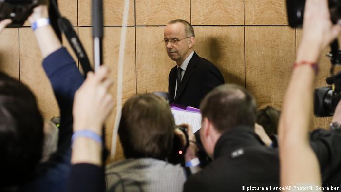 Deutschland Absturz Germanwings | Günther Lubitz, Vater des Co-Piloten Andreas Lubitz