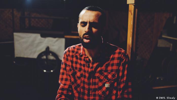 Palästinensicher Musiker Bashar Murad