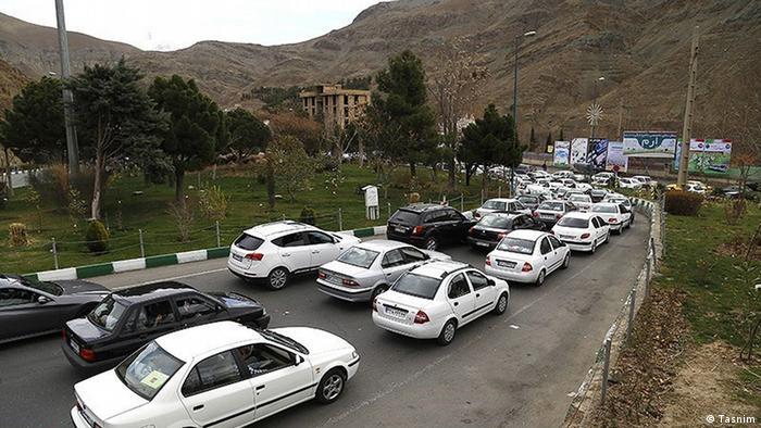 عکس آرشیوی از ترافیک سنگین در جادههای شمال ایران