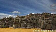 Peru Ruine der Inka-Festung Sacsayhuaman Tempel Mauer (Getty Images/B. Stirton)