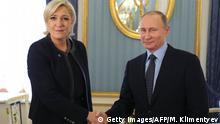 Russland | Marine Le Pen bei Putin
