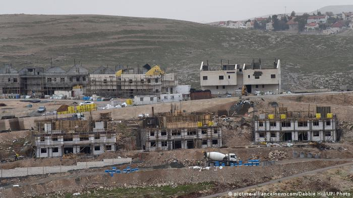 Ma'ale Adumim Settlement in West Bank