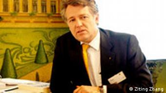 Jörg Wuttke, president of the European Chamber of Commerce in China