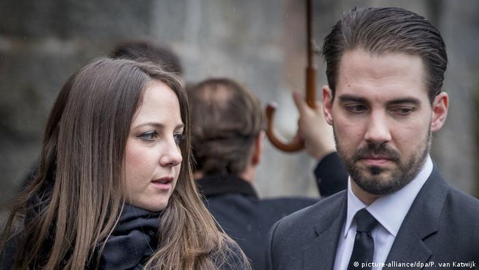 Griechische Prinzessin Theodora & Prinz Philippos (picture-alliance/dpa/P. van Katwijk)